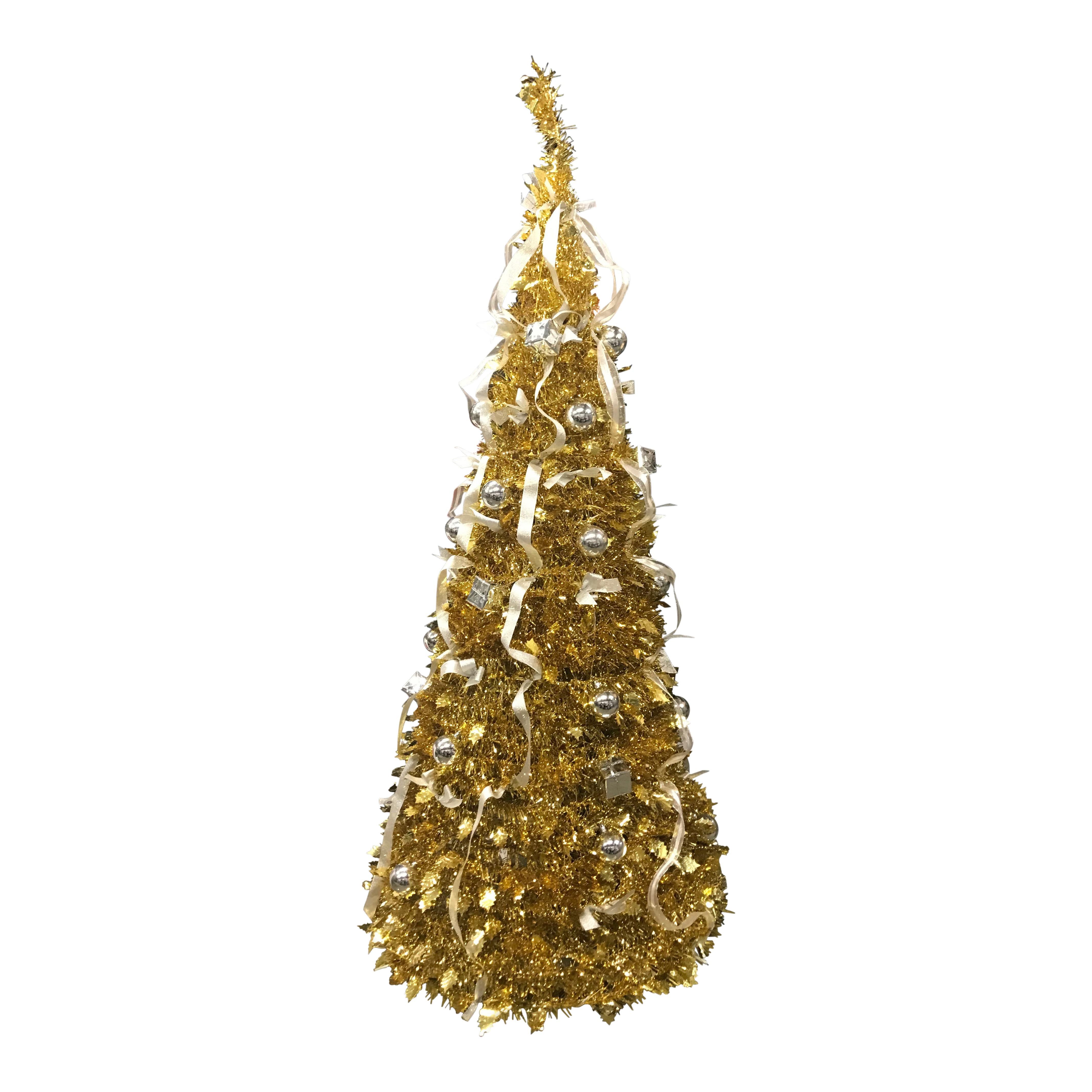 Kerstboom 180cm goud