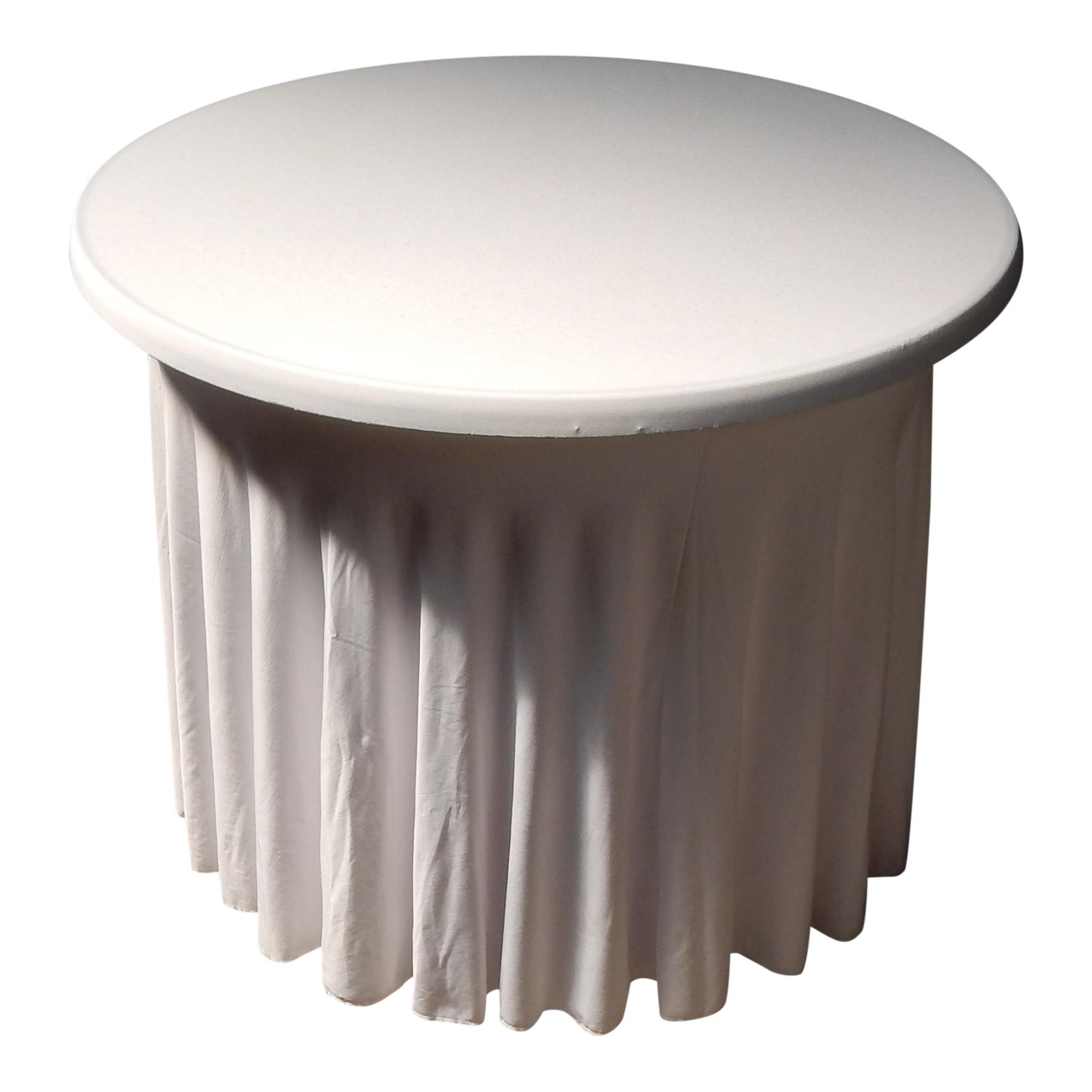 Terrastafel hoes wit