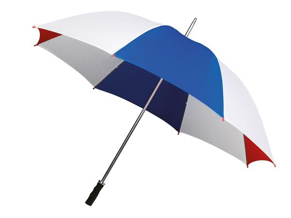 Paraplu rood/wit/ blauw