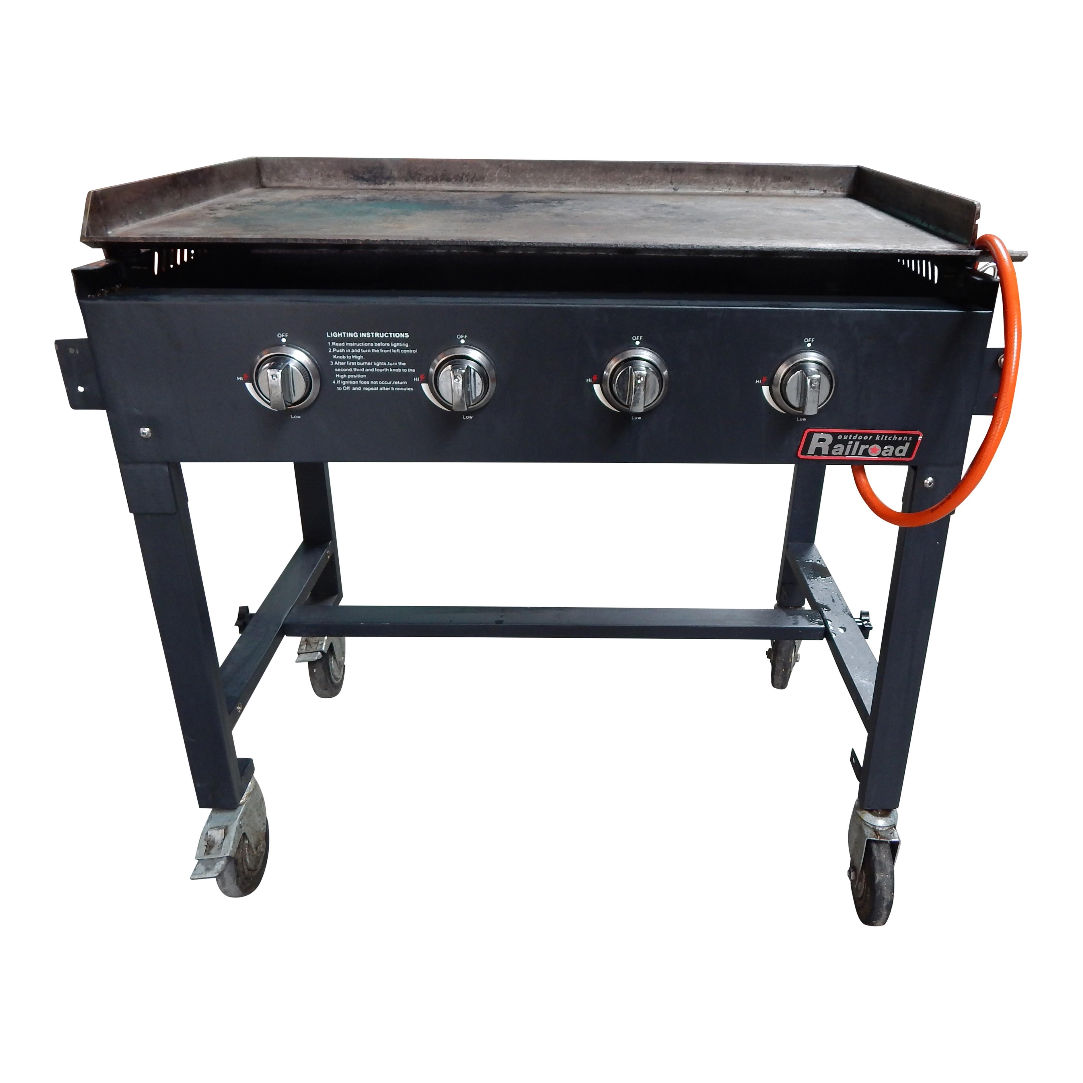 Gasbarbecue 100 x 55cm - Schoon inleveren