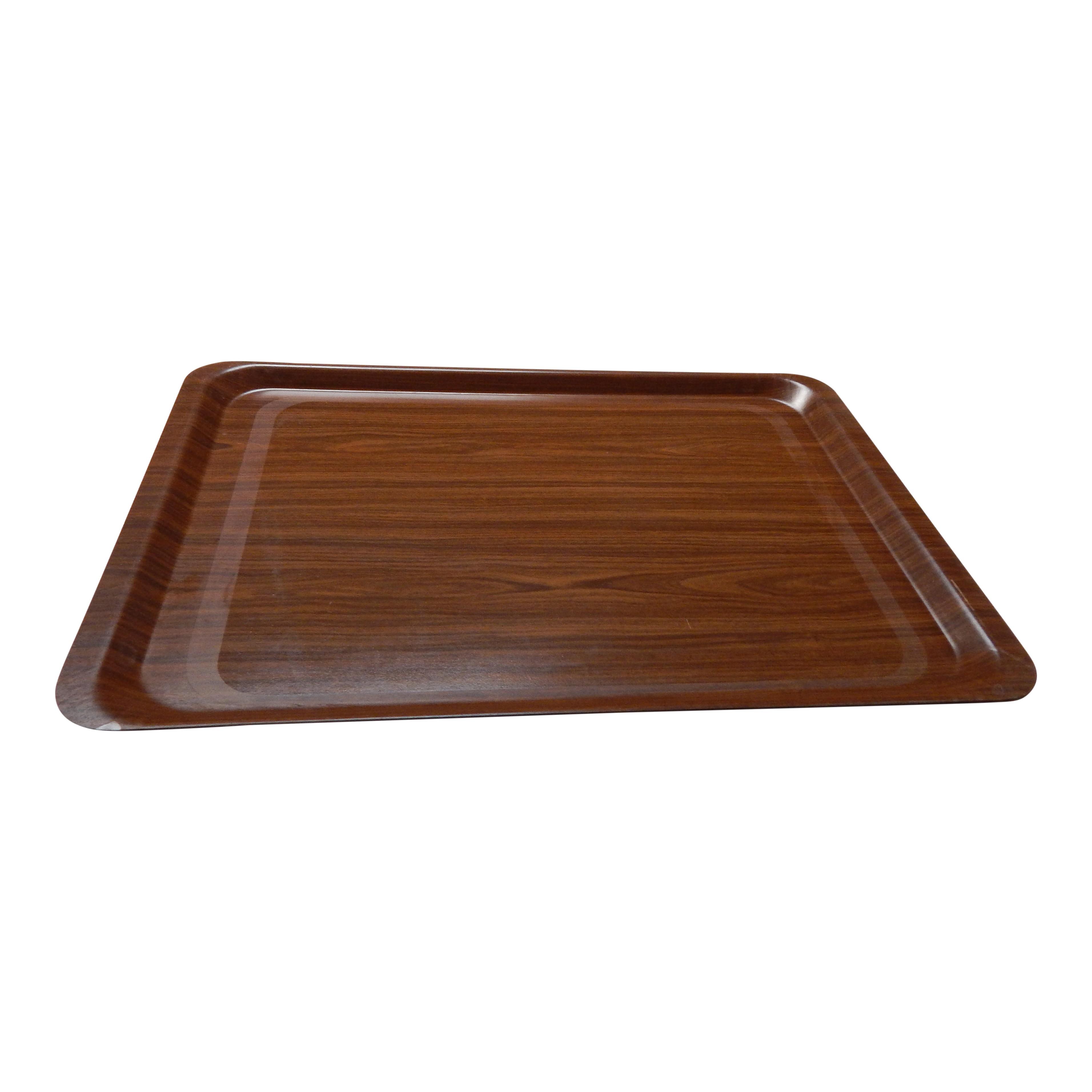 Dienblad 35x25cm houtlook
