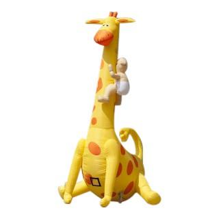 Geboorte Giraf met baby