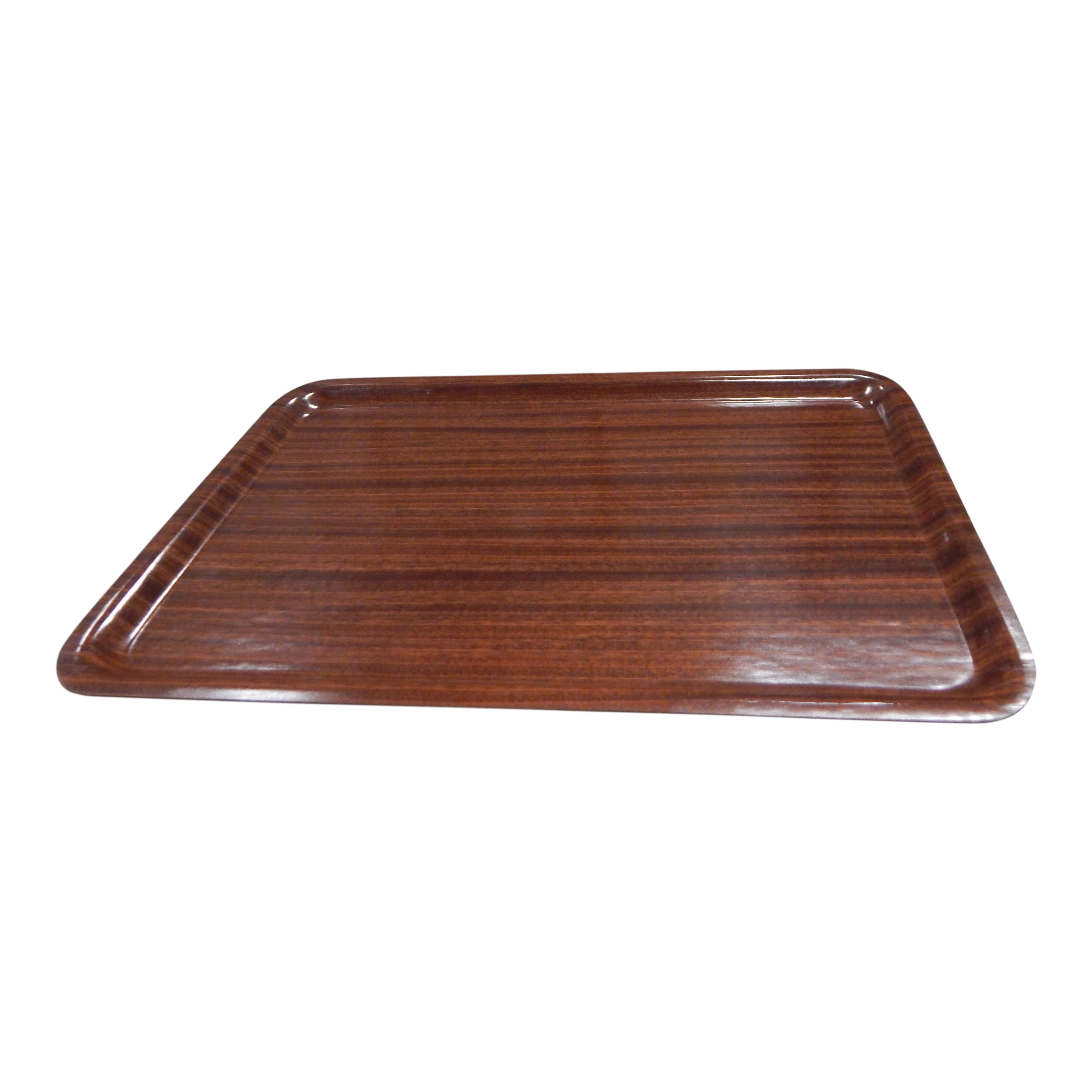 Dienblad 50x35cm houtlook