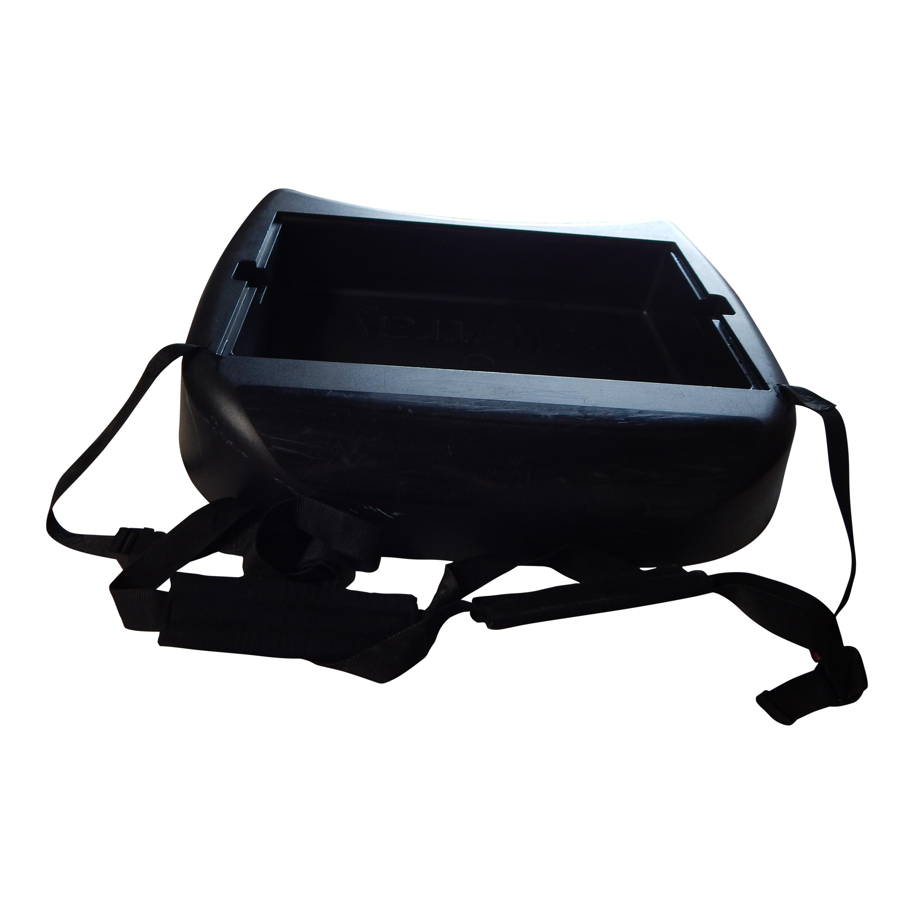 Belly Tray zwart