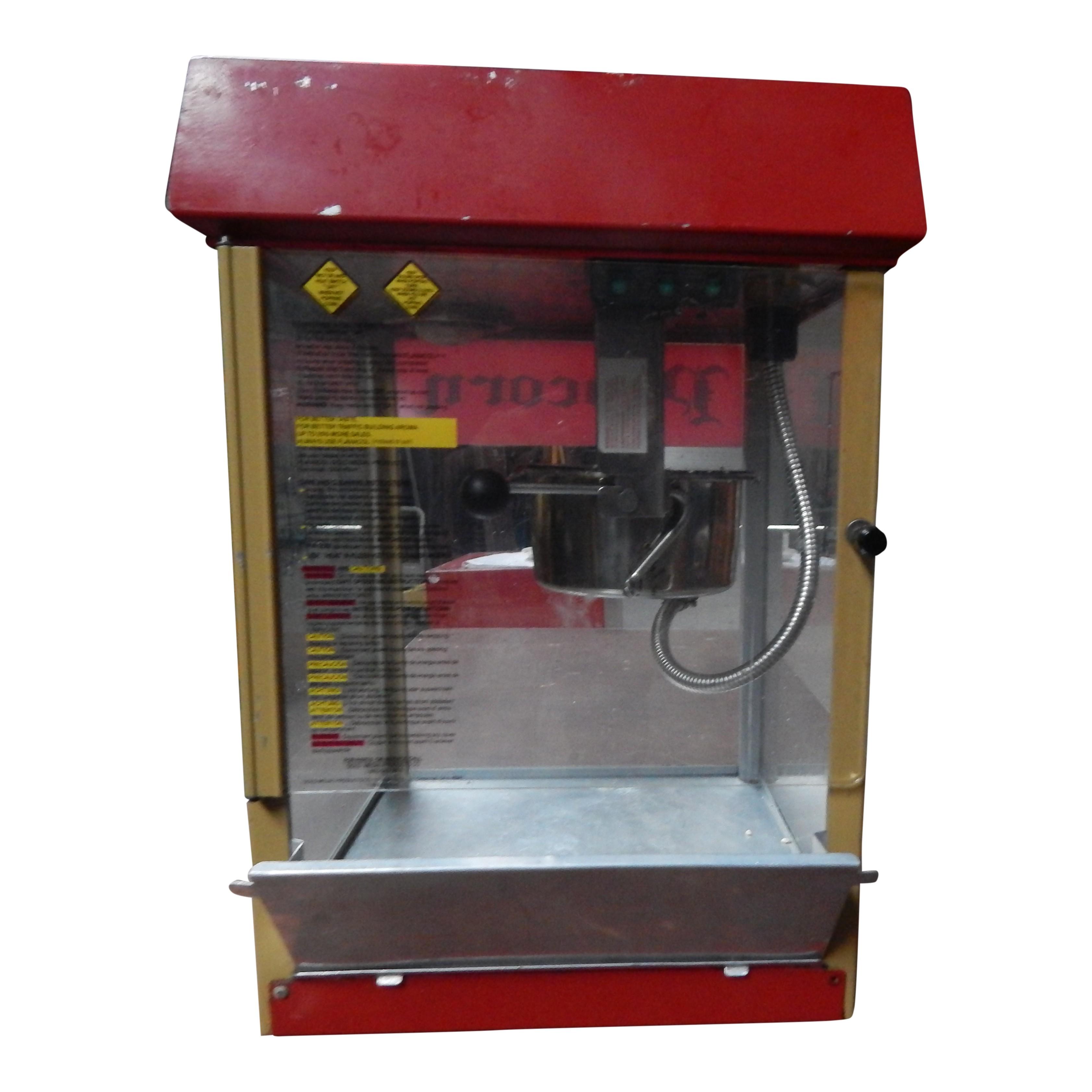 Popcornmachine Tafelmodel - Alleen machine