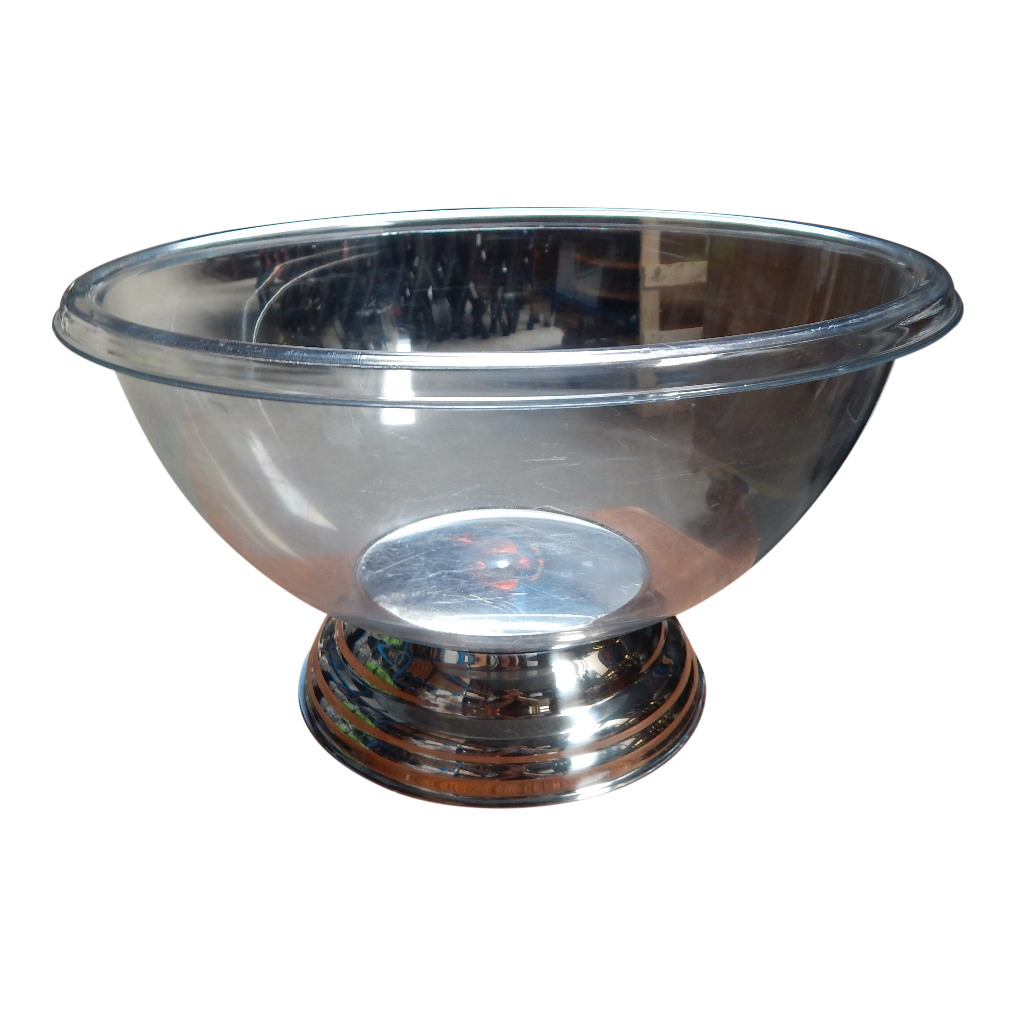 Champagnebowl Transparant